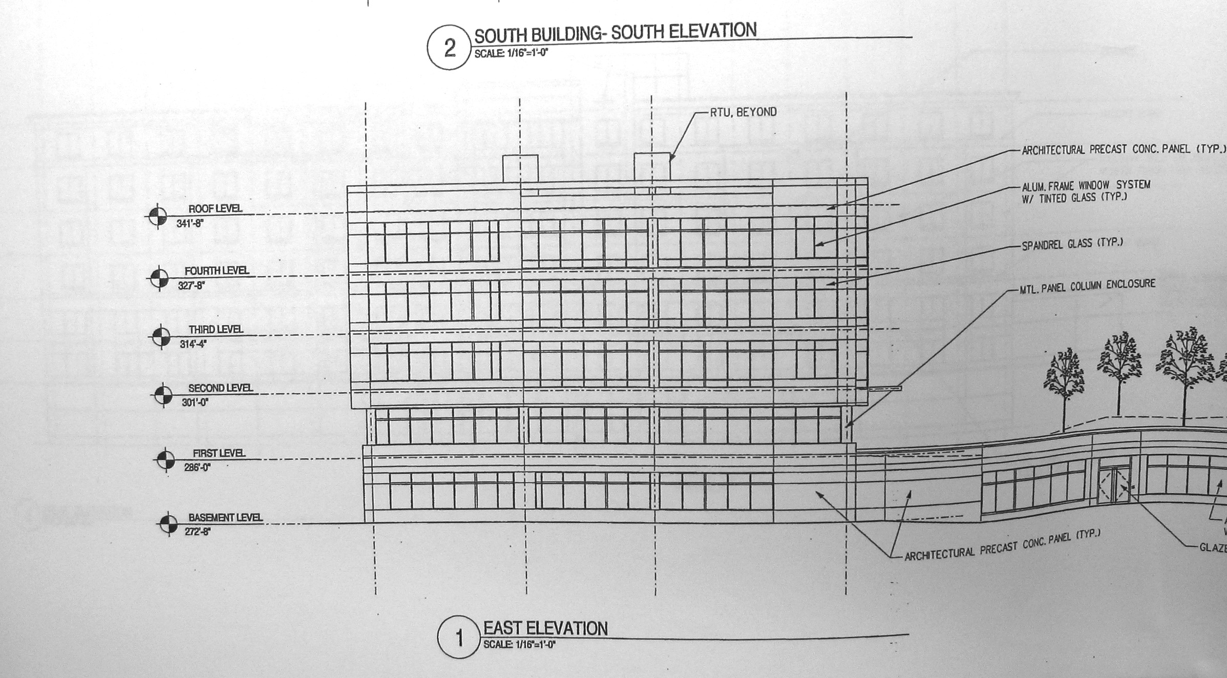 Building Elevation Plan Part - 22: South Building East Elevation
